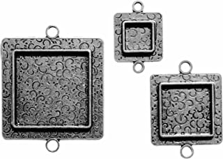 Spellbinders MB2-005S Media Mixage Squares Two, Silver