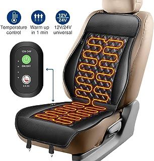 cuscino riscaldato per auto MVPower riscaldabile nero 12 V