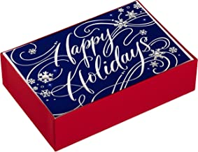 Hallmark Boxed Holiday Cards, Happy Holidays (40 Cards with Envelopes)