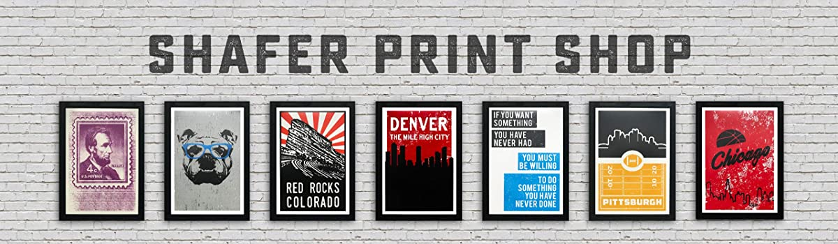 Shafer Print Shop Amazon Handmade