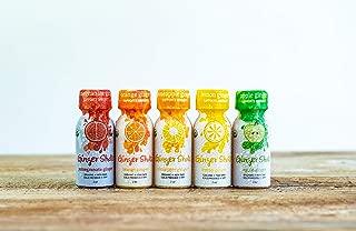 Ginger Shots Organic Cold Pressed Ginger Juice Shot, Variety Pack, 36-Pack