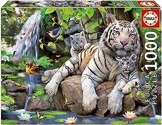 Educa 1000 Bengal White Tiger -14809