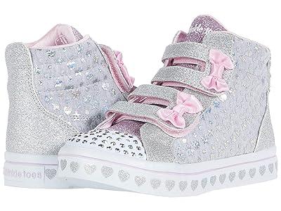 SKECHERS KIDS Twinkle Toes Twi-Lites Heather 314040N (Toddler/Little Kid) (Gray) Girl