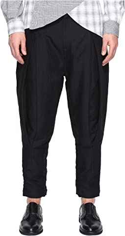 Pintuck Trousers