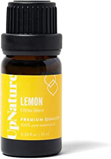 Lemon Essential Oil - 100% Pure Premium Lemon Oil - Great For Skin, Ingestion, Mood, Attention and Focus, Household Cleaner, Laundry, Aromatherapy, Essential Oils Lemon Balm