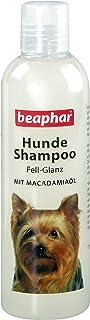 Hunde Shampoo Fell-Glanz | Hundeshampoo für glänzendes Fell | Mit Macadamiaöl | Fellpflege für Hunde | pH neutral | Gegen schlechten Geruch | 250 ml