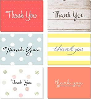 48 Pack Thank You Cards Set With Envelopes