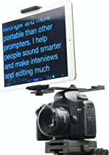 Glide Gear TMP10 Teleprompter Tablet Smartphone Hot Shoe Mount Holder
