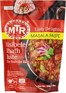 MTR Bisibele Bhath Paste, 7.10-Ounce Pouches (Pack of 30)