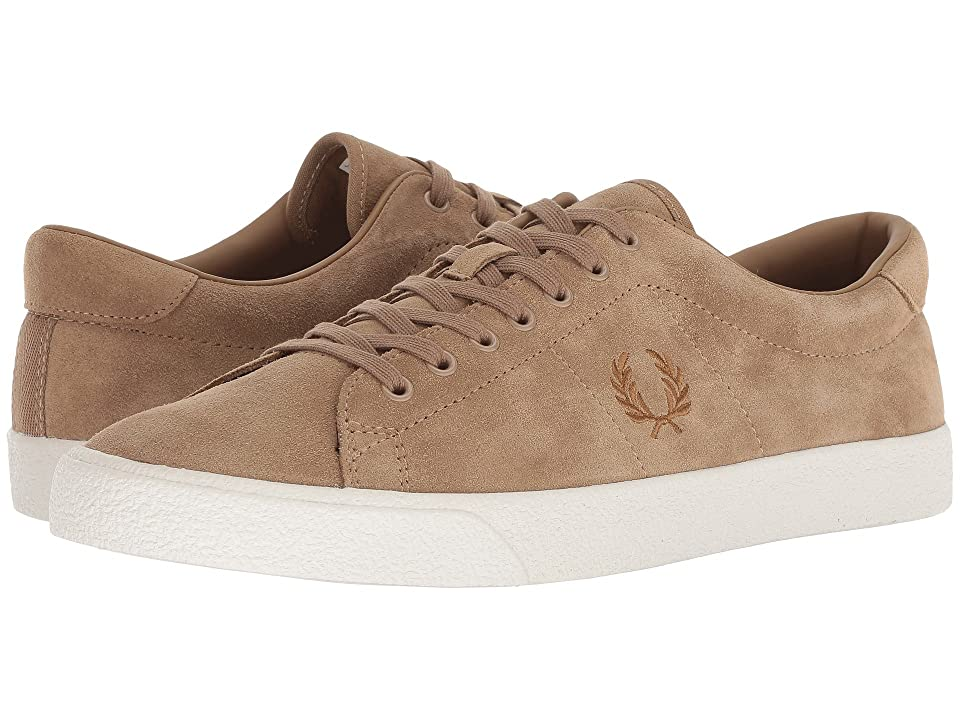Fred Perry Underspin Suede Crepe (Almond) Men