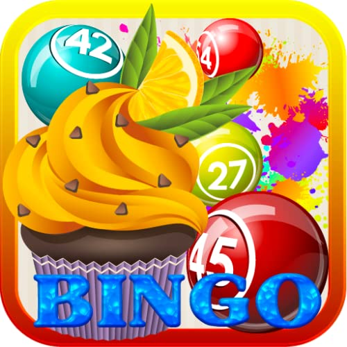 Fruits Cake Bingo Maker Free Bingo HD Game for Kindle Good Cook...