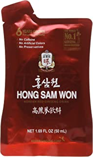 Cheoung Kwan Jang - Red Ginseng Extract Drink 30 - 1.69 FL OZ Pouches, Net Wt, 50.7 FL OZ (1.5L)
