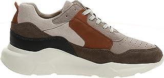 حذاء مانكي من الشمواه للرجال من جاك اند جونز, (رمادي ثلجي), 44 EU