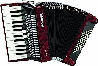 Hohner Accordions BR48R-N 26-Key Piano Accordion, 48 Bass, R