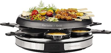 Tefal RE127812 Appareil à Raclette Déco Inox - 850W