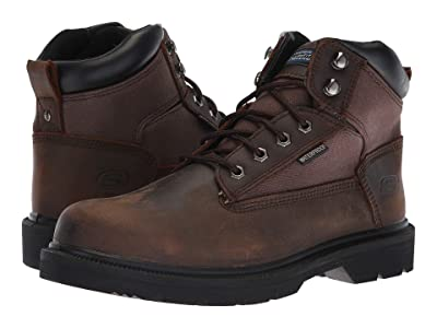 SKECHERS Work Makanix Mennot (Brown) Men