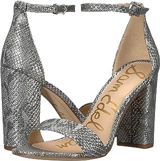 90da6f6a233 Amazon.com  Silver Women s Heeled Sandals