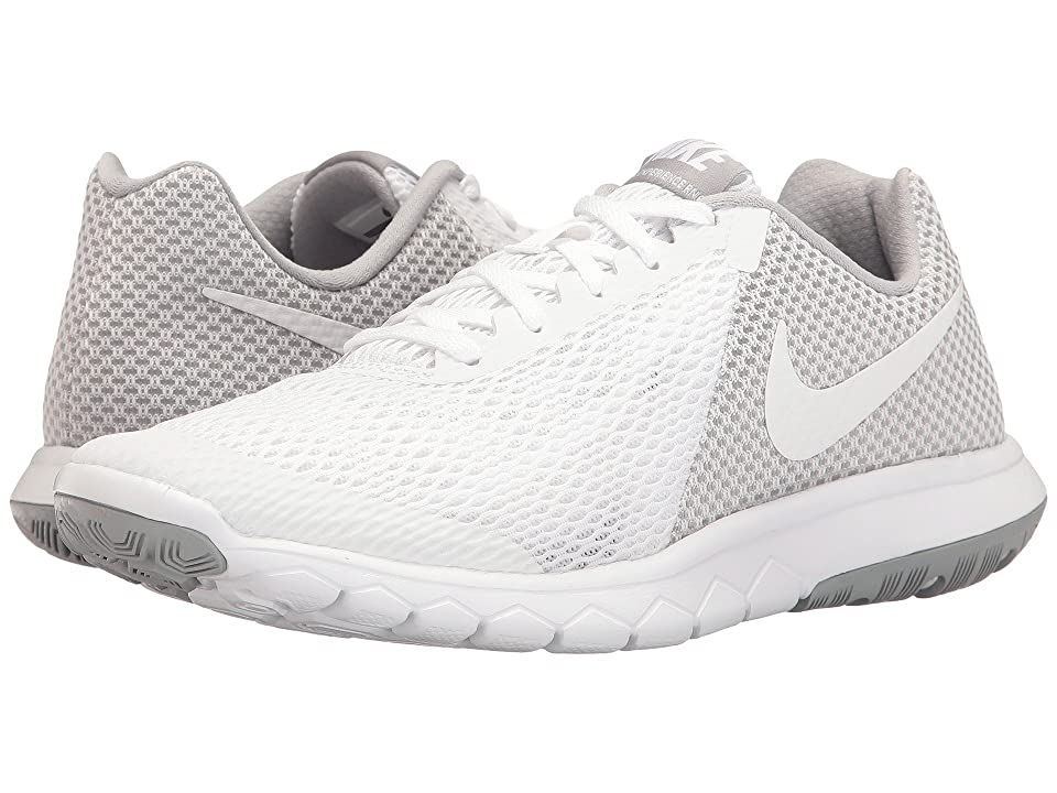 Nike Flex Experience RN 6 (White/White/Wolf Grey) Women