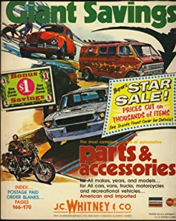 J. C. Whitney Automotive Accessories and Parts - 1976 Catalog 350 B