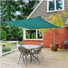 LIXIONG schaduwnet, rechthoek buiten schaduwzeil, 90% UV blok zonnebrandluifel met gratis touw voor tuin terras, aangepast...