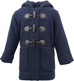 madden Girl Navy Peacoat Toggle Button Hooded (Navy, 2T)