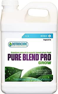 Botanicare PURE BLEND PRO Grow Soil Nutrient 3-2-4 Formula, 2.5-Gallon