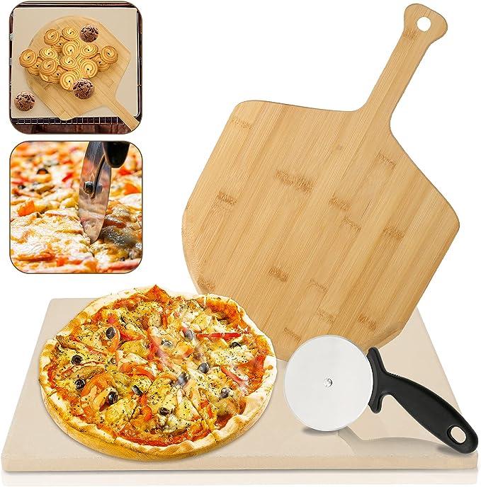 72 opinioni per VINGO Pietra Refrattaria per Cottura Pizza, per Cuocere nel Forno Grill di Casa