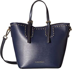 Novelty Studded Small Tote