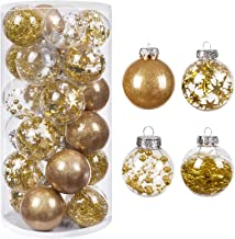 "HBlife Christmas Ball (Gold, 3.15"" 20PCS)"