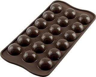Silikomart Professional Easy Choc Silicone Chocolate Mold, Goal