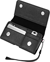 Belt Clip Holster Wallet Case w/Card Slots Compatible for Apple iPhone Xs/X/Samsung Galaxy S9 / Xcover 4S / A40 / J2 Core/LG Aristo 3 / Tribute Empire/Nokia 2.2/1 Plus/BLU Grand M2