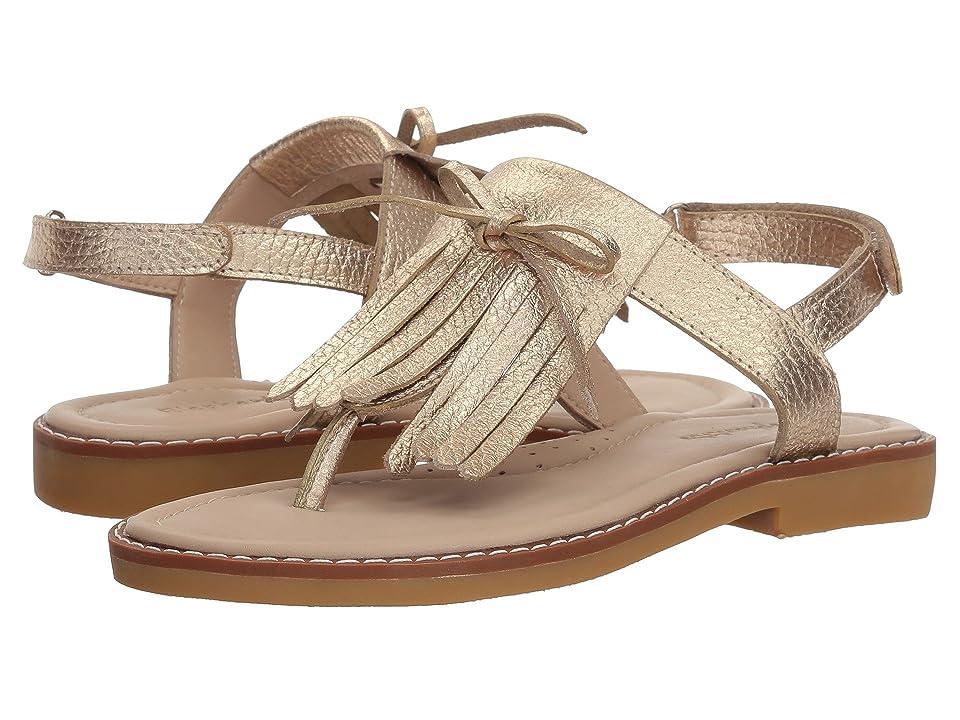 Elephantito Fringes Sandal (Toddler/Little Kid/Big Kid) (Gold) Girls Shoes