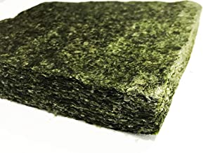 Far Edge Aquatics Bulk Green Seaweed for Fish – Extra Large Sheets (5.10 Oz..
