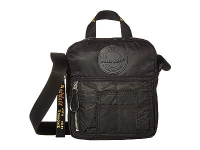 Dr. Martens Flight Super Mini Nylon Bag (Black Nylon) Shoulder Handbags