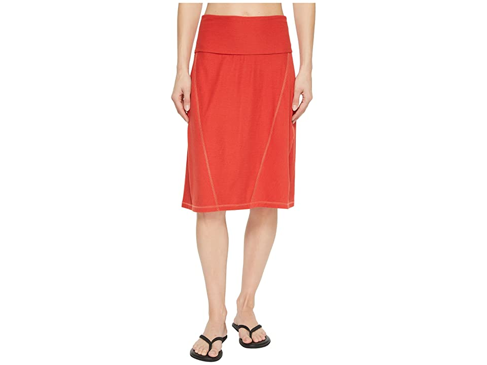 The North Face Getaway Skirt (Sunbaked Red Heather) Women