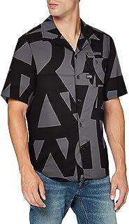 G-STAR RAW Bristum Straight Short Sleeve Camisa para Hombre