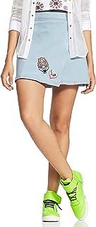 River Denim a-line Skirt