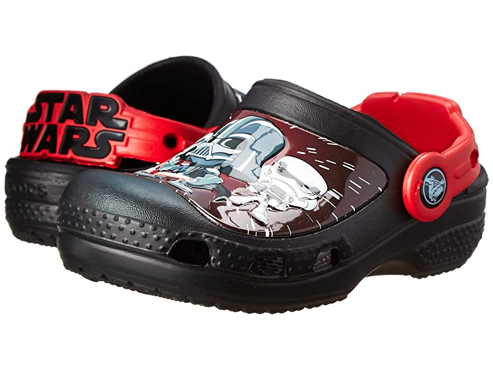 Crocs Kids Star Warstm Darth Vadertm Clog (Toddler/Little Kid) (Black) Boys Shoes