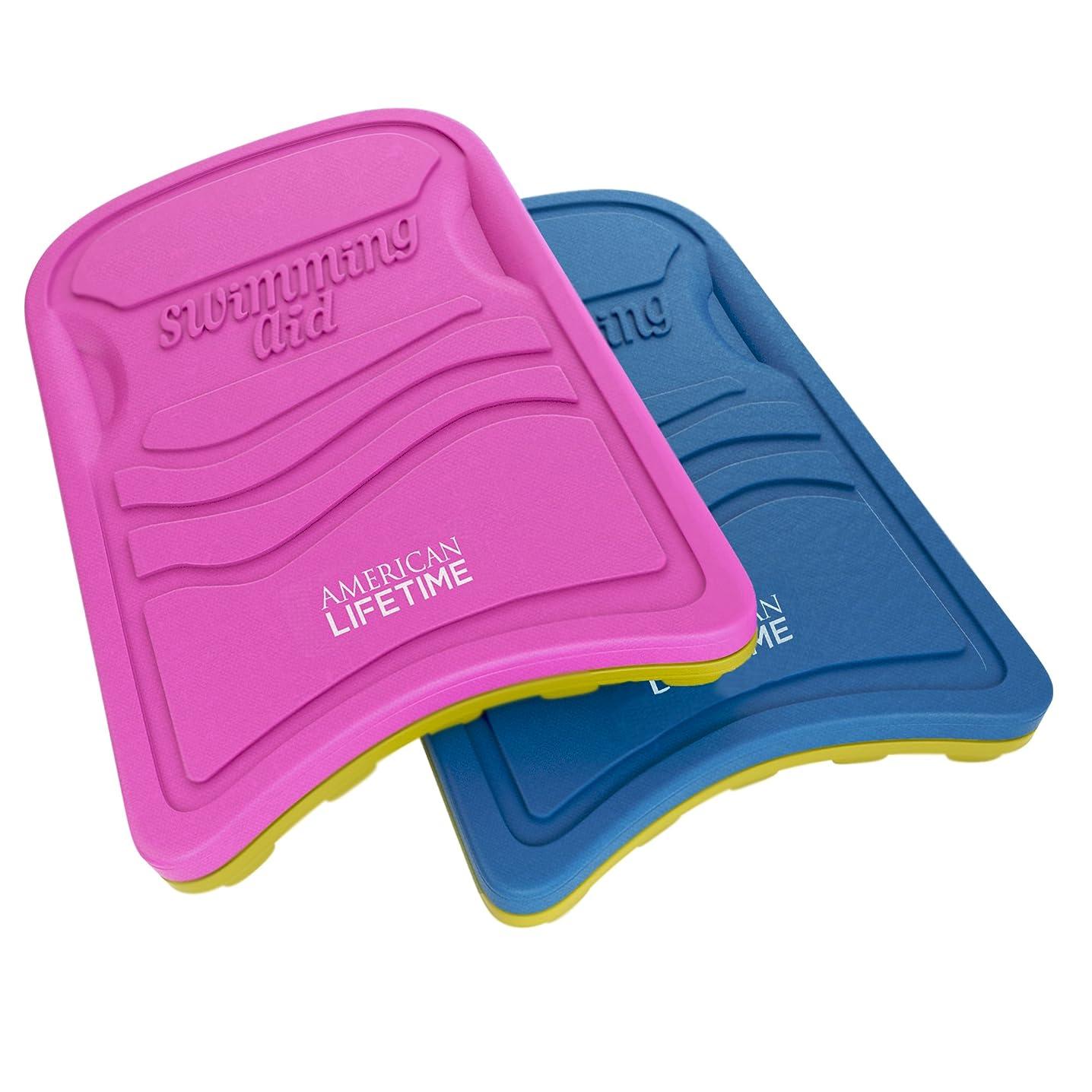 Kickboard - Lightweight Foam Swim Board - Swimming Training Aid for Adults and Kids