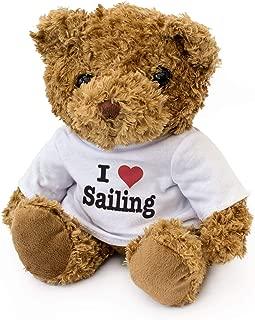 I Love Sailing - Teddy Bear - Cute Soft Cuddly - Gift Present