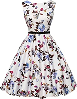 Best floral print 50s dress Reviews