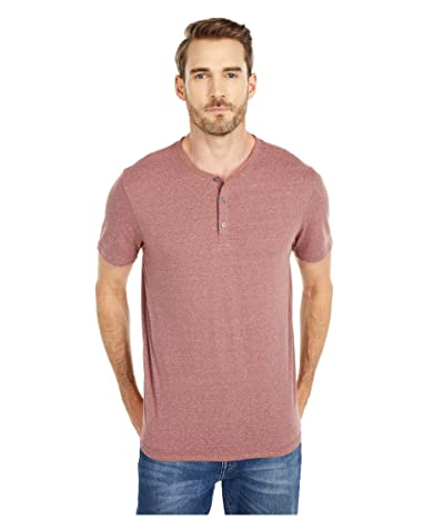 Threads 4 Thought Baseline Short Sleeve Tri-Blend Henley (Pottery) Men