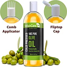 WishCare 100 Percent Pure Premium Cold Pressed Olive Carrier Oil, 200ml