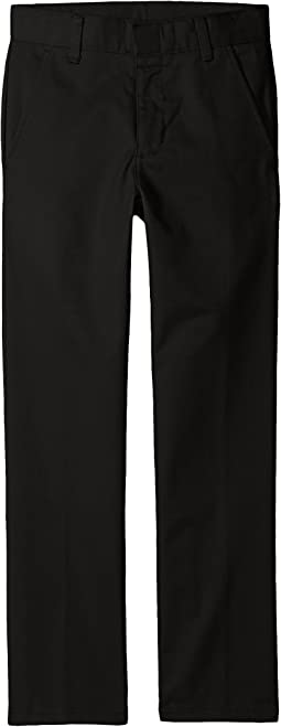 Slim Fit Flat Front Pants (Little Kids/Big Kids)