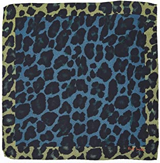Paul Smith Men's Leopard Print Pocket Square
