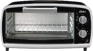 Oster Toaster Oven, 4 Slice, Black (TSSTTVVG01)