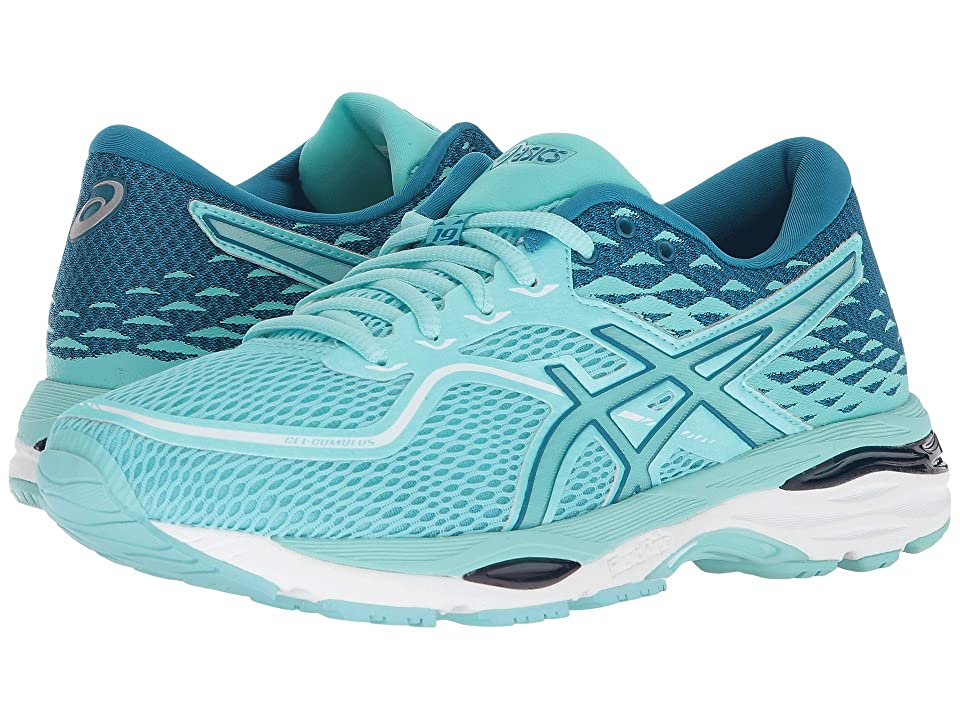 ASICS GEL-Cumulus(r) 19 (Aruba Blue/Aruba Blue/Turkish Tile) Women
