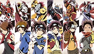 BLVD - Digimon Six Legendary Heroes Playmat YuGiOh Playmat Custom Playmat - MTG TCG YuGiOh VG Playmat