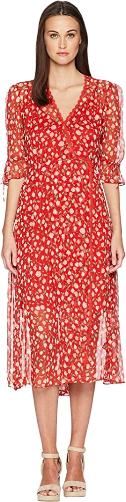 Rosa Rosa Print Dress in Muslin Viscose