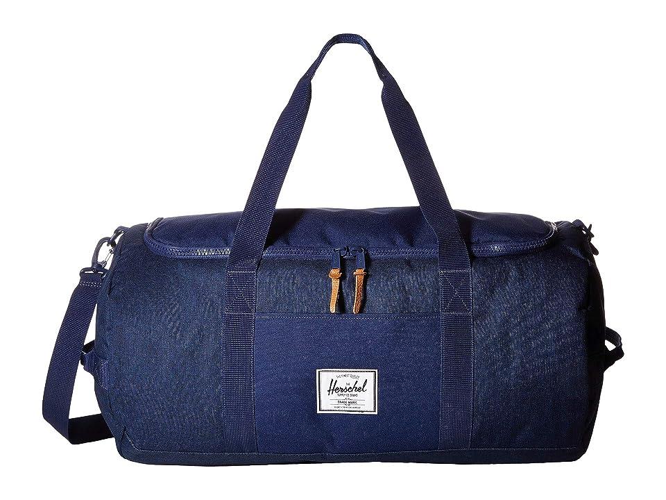 Herschel Supply Co. Sutton (Medieval Blue Crosshatch/Medieval Blue) Duffel Bags